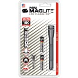 Maglite Mini LED 2-Cell AAA Flashlight Gray