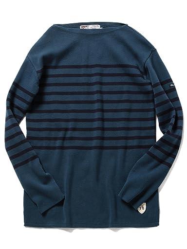 Boatneck Shirt 51-15-0406-166: Deep Sea