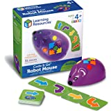Learning Resources LER2841 Code & Go Robot Mouse, Coding STEM Toy, 31 Piece Coding Set, Ages 4+