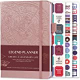 Legend Planner - Deluxe Weekly & Monthly Life Planner to Hit Your Goals & Live Happier. Organizer Notebook & Productivity Jou