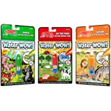 Melissa & Doug On the Go Water Wow! 3-Pack (Jungle, Safari, Farm)