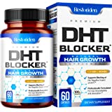 Restoriden DHT Blocker Hair Loss Supplement - Supports Healthy Hair Growth - Helps Stimulate New Hair Follicle Growth - With