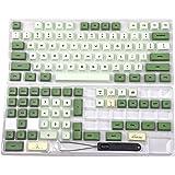 Matcha Dye Sub ZDA PBT Keycap Similar to XDA Japanese Korean Russian for MX Keyboard 104 87 61 Melody 96 KBD75 ID80 GK64 Tada