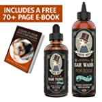 Mister Ben's Most Effective Dog Ear Treatment Cleanser Ear Care Kit w/Aloe for Dogs – This Dog Ear Cleaner Provides Fast...