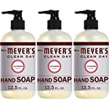 Mrs. Meyers Clean Day Liquid Hand Soap, Lavender Scent, 12.5 Ounce Bottle Each (Pack of 3)