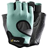 Glofit FREEDOM Workout Gloves, Knuckle Weight Lifting Shorty Fingerless Gloves with Curved Open Back, for Powerlifting, Gym,