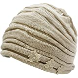 【宇野千代】おしゃれヘアーキャップ 室内帽子フード日本製