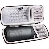 LTGEM Case for Bose SoundLink Revolve Bluetooth Speaker with Mesh Pocket-Black