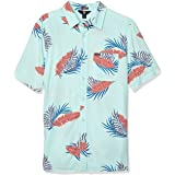 Volcom Men's Bermuda Short Sleeve Button Down Shirt