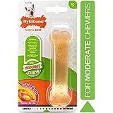 Nylabone NCF202P FlexiChew Chicken Bone Chew Toy on Card, Regular, White