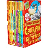 Horrible Geography Collection 10 Books Box Gift Set Pack By Anita Ganeri