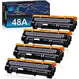 GOTOBY Compatible 48A CF248A Black Toner Cartridges Replacement for HP Laserjet Pro M15w MFP M28w M29w M30w M31w M15a M16a M2