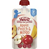 Heinz Apple, Peach and Mango Pouch, 120g