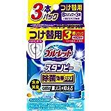 ブルーレットスタンピー トイレ洗浄剤 除菌効果プラス フレッシュコットン 詰め替え用 約90日分