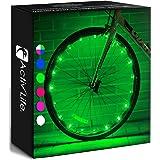 Activ Life Bike Wheel Lights Best Gifts for Men for Easter Basket Stuffing & Birthday Gifts, Teens & Boys. Top Unique Present