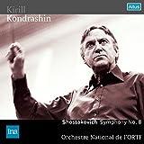 ショスタコーヴィチ : 交響曲 第8番 (Shostakovich : Symphony No.8 / Kirill Kondrashin   Orchestre National de l'ORTF)