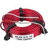 【国内正規品】[AAS01d] Solen 空芯コイル(18AWG) 0.1mH(末端処理済)「2個セット」 COIL18AWG0.1