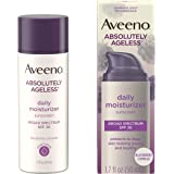 Aveeno Absolutely Ageless Anti-Wrinkle Facial Moisturizer with SPF 30 Sunscreen, Antioxidant-Rich Blackberry Complex, Vitamin