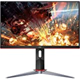 "AOC 24G2 24"" Frameless Gaming IPS Monitor, FHD 1080P, 1ms 144Hz, Freesync, HDMI/DP/VGA, Height Adjustable, 3-Year Zero Dead P"