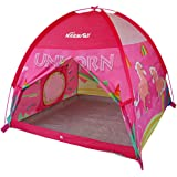 NARMAY Play Tent Unicorn Dome Tent for Kids Indoor / Outdoor Fun-122 x 122 x 102 cm