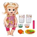 baby aLive Dolls- Snackin' Sara Super Snacks - Blonde Girl - Kids Toys Ages 3+