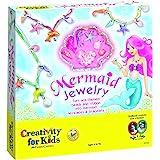 Creativity for Kids Mermaid Jewelry - Mermaid Necklace and Bracelet Making Kit