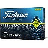 TITLEIST(タイトリスト) ゴルフボール TOUR SOFT 1ダース (12個入り) 日本正規品