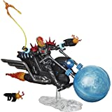 Hasbro Marvel Legends Series 6-inch Collectible Action Figure Cosmic Ghost Rider Toy, Premium Design, Includes Vehicle and Ac