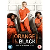 Orange is the New Black Seasons 1-6 [DVD] [2019]