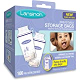 Lansinoh Breastmilk Storage Bags 100 Count BPA Free and BPS Free