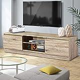 Artiss TV Unit 160cm Length Entertainment Unit Wooden TV Cabinet Console Table, Natural