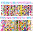 Sticker Sheets Stickers for Kids - 40 Different Kids Bulk Stickers 1200+ Fun Stickers for Girls Boy Stickers Kids Stickers fo