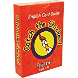 Catch the Chicken English Card Game Q & A Easy Level