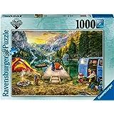 Ravensburger Wunderlust Calm Campsite Puzzle Game 1000-Pieces