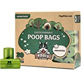 Pogi's Poop Bags - 30 Unscented Rolls (450 Bags) - Biodegradable, Leak-Proof Pet Waste Bags