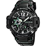 Casio G-Shock Gravitymaster Analogue/Digital Black/Green Mens Watch GA1100-1A3 GA-1100-1A3DR