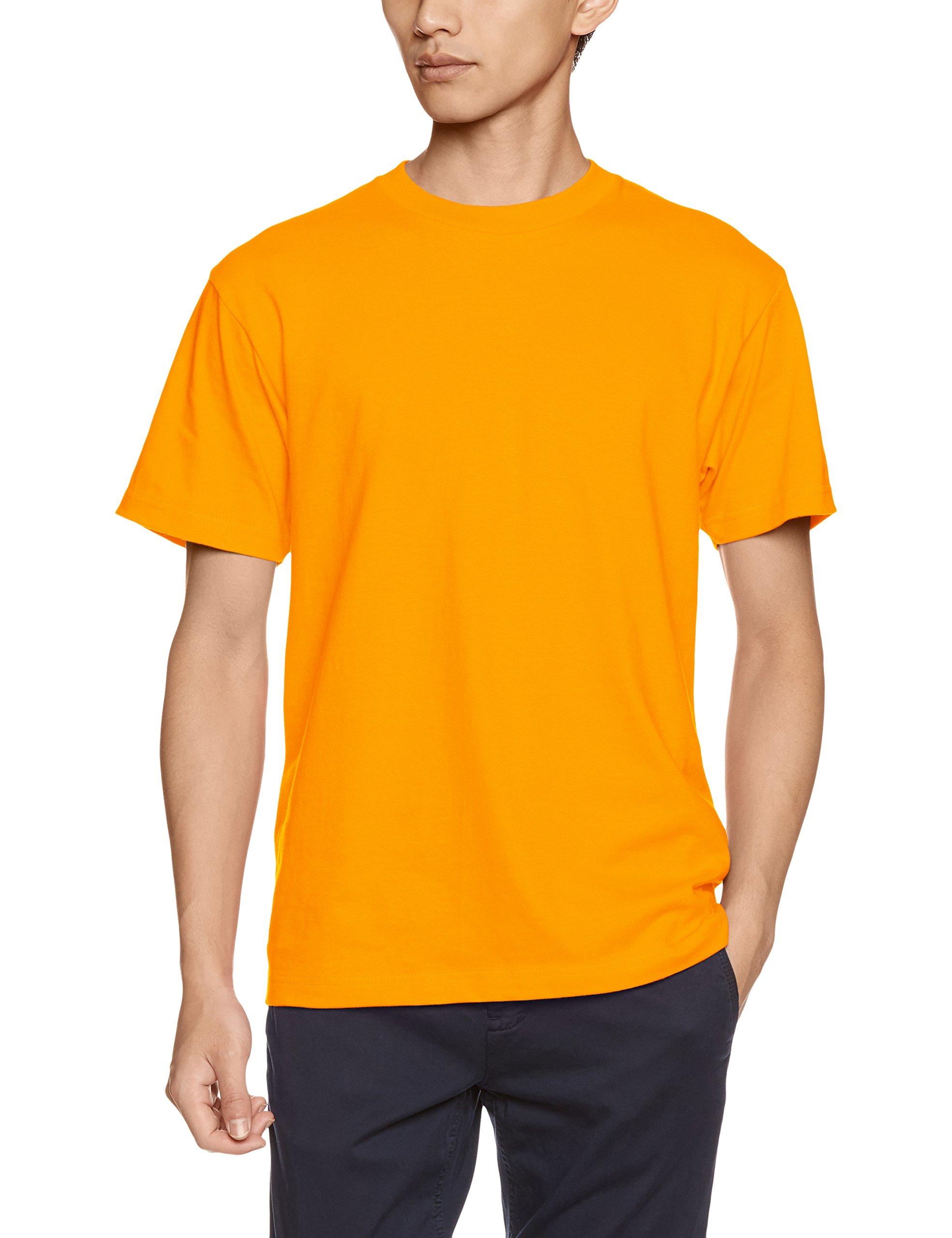 プリントスター 半袖 5.6オンス へヴィー ウェイト Tシャツ 00085-CVT ゴールドイエロー XXXL 日本サイズ4L相当