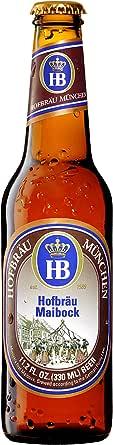 【輸入 ドイツ プレミアムビール】 ホフブロイ マイボック(HOFBRÄU Maibock) 330ml × 24本