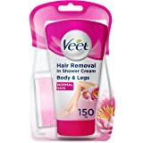 Veet In-shower Hair Removal Cream, Normal Skin, 150g