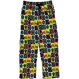 BioWorld Merchandising Men's Power Rangers Grid Lounge Pants