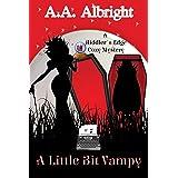 A Little Bit Vampy (A Riddler's Edge Cozy Mystery #7)