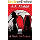 A Little Bit Vampy (A Riddler's Edge Cozy Mystery #7)
