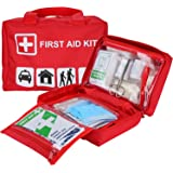 ProCase First Aid Kit, All-Purpose Survival Kit with 96 Pieces Outdoor Emergency Supplies for Car, Home, Office, Sports, Trav