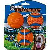 Chuckit! Fetch Medley Ball, Medium, 3 Pack