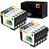 JARBO Remanufactured Ink Cartridge for Epson 252XL 252 XL T252 T252XL to use with Workforce WF-3640 WF-3620 WF-7110 WF-7710 W
