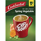 CONTINENTAL Cup A Soup Classic Spring Vegetable, 4 Pack, 60g