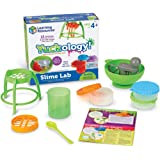 Learning Resources Yuckology Slime Science Set, Early Science Skills, DIY Slime, STEM Skills, Measurement, Color Mixing, Ages