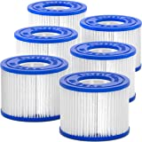 Sunset Filters Type VI Spa Filter Cartridge - for SaluSpa, Lay-Z-Spa (6-Pack)