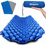 POWERLIX Sleeping Pad - Ultralight Inflatable Sleeping Mat, Best Self Serving Pad for Camping, Backpacking, Hiking - Airpad,