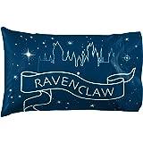 Jay Franco Harry Potter Raven Stars 1 Pack Pillowcase - Double-Sided Kids Super Soft Bedding - Features Hogwarts House Ravenc